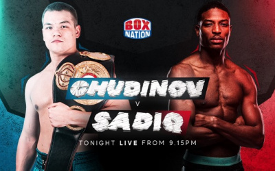 Umar Sadiq stopped by Fedor Chudinov George groves fight highlights results full report who won did he win