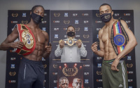 Akeem Ennis-Brown vs Philip Bowes official weights and running order tv channel broadcast start