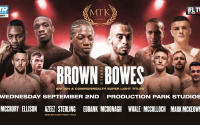 How to watch Philip Bowes vs Akeem Ennis-Brown British and Commonwealth super-lightweight title fight dan azeez andre sterling time ringwalks date tv channel schedule ifl tv what time start