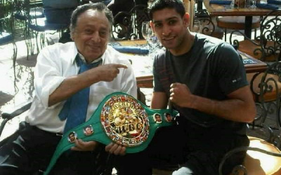 Amir Khan begins work with WBC Middle East Council