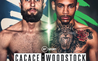 Anthony Cacace vs Lyon leon Woodstock jr fight details - time, date, TV channel, undercard, schedule, venue, betting odds, predictions, ring walks and live stream info oddschecker best bets preview tale of the tape