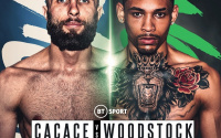 Anthony Cacace vs Lyon Woodstock is cancelled is the show still going ahead who is headliner headlining whats happening frank warren bt sport saturday