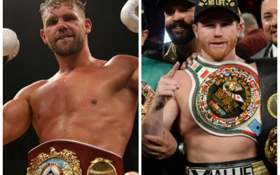 Billy Joe Saunders vs Canelo Alvarez