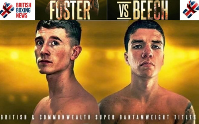 Brad Foster vs James Beech Jr preview who wins why how British bantamweight title contest betting odds tale of the tape stats fight