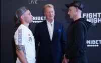 Carl Frampton Darren Traynor press conference quotes irelands greatest ever fighter who wins betting odds live stream details oddschecker