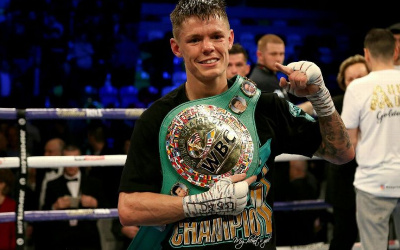 Charlie Edwards vacates his WBC belt
