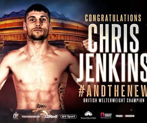 Chris Jenkins defeats Johnny Garton to win British