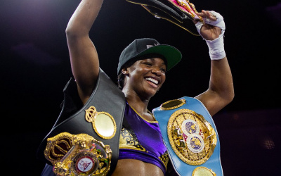 "Claressa Shields: ""I'm going to knock Savannah Marshall out cold!"" fight time date predictions channel live stream links amateur footage"