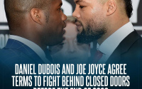 Daniel Dubois and Joe Joyce agree terms to fight behind closed doors this year november december where what venue tickets oddschecker betting odds best bets tips preview