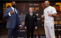 Daniel Dubois vs Joe Joyce final press conference quotes who wins and how bet on best oddschecker odds betting bet365 william hill predictions previews fight date time tv report what time start ringwalks frank warren
