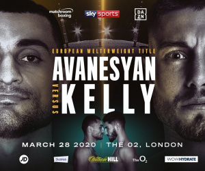David Avanesyan vs Josh Kelly fight time, date, TV channel, undercard, schedule, venue, betting odds and live stream details