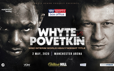 Dillian Whyte vs Alexander Povetkin will fight behind closed doors