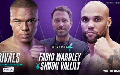 Fabio Wardley looking for a credible win - Simon Vallily promises he won't see final bell