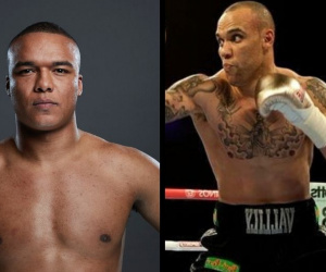 Fabio Wardley and Simon Vallily will clash for the vacant English heavyweight crown