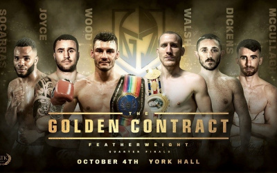 MTK Golden Contract featherweight tournament fight time, date, TV channel, undercard, schedule, venue, betting odds and live stream details