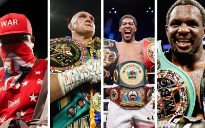 Top 15 highest rated British heavyweights in the world best ibf wbo wbc ibo wba ring magazine boxrec joshua fury all time history