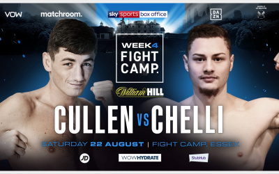 Super-middleweights Jack Cullen and Zak Chelli will clash on Whyte-Povetkin undercard