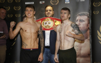 Jay Harris vs Paddy Barnes weights