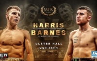 Jay Harris vs Paddy Barnes fight time, date, TV channel, undercard, schedule, venue, betting odds and live stream details