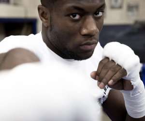 Debut Corner with Jonathan Kumuteo Finchley ABC boxer frank warren london bt sport