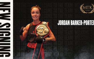 Top amateur Jordan Barker-Porter turns pro with MTK Global boxrec haringey career record who is she aba female wiki gym trainer manager Tyne Tees & Wear champion