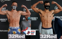 Josh Taylor vs Apinun Khongsong official weigh-in results and running order