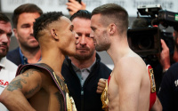 Josh Taylor vs Regis Prograis weigh in