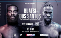 Joshua Buatsi and trainer Virgil Hunter both say Daniel Blenda Dos Santos is a serious threat press conference quotes
