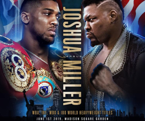 Anthony Joshua vs Jarrell Miller Predictions and Betting