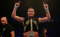 Katie Taylor vs Christina Linardatou WBO two weight world champion fight time, date, TV channel, undercard, schedule, venue, betting odds and live stream details