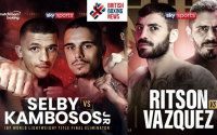 Lee Selby vs George Kambosos Jr and Lewis Ritson vs Miguel Vazquez Motorpoint Arena Cardiff Utilita Arena Newcastle events rescheduled october 3 17