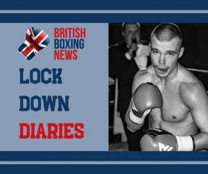 Lockdown Diaries – Unbeaten featherweight Andrew Cain is taking every day as it comes