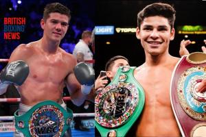 Luke Campbell vs ordered to face Ryan Garcia for the WBC interim world title winner against Devin Haney fighting