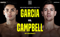 Ryan Garcia vs Luke Campbell December 5 fight is off postponed covid-19 coronavirus positive why id california trainer amateur career oddschecker betting odds fight dtae time next when where who wins