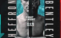 Mark Heffron vs Denzel Bentley 2 rematch preview + undercard british middleweight title vacant who wins and why predictions betting odds oddschecker ringwalks time start date fight