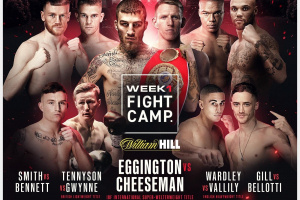 Predictions for Sam Eggington vs Ted Cheeseman who wins betting odds stats tale of the tape