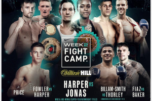 Matchroom Boxing Fight Camp 2 preview featuring Terri Harper vs Tasha Jonas Chris Billam-Smith vs Nathan Thorley predictions