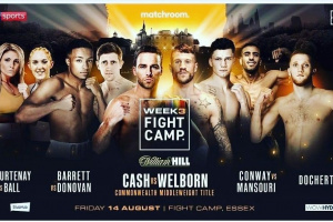 Matchroom Boxing Fight Camp Week 3 preview featuring Felix Cash vs Jason Welborn