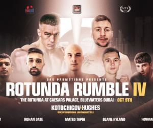 Maxi Hughes vs Viktor Kotochigov Rotunda Rumble IV heads to Dubai next month WBC International lightweight title how to watch where tv channel live stream details oddschecker bettinng odds predictions preview