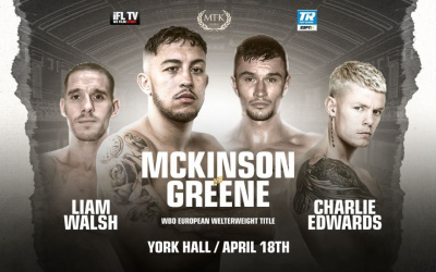 Michael McKinson vs Louis Greene
