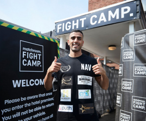 Navid Mansouri predicts it'll be an intelligent fight with Kieron Conway