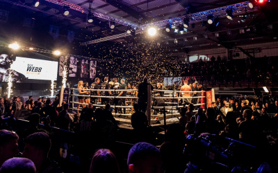 Ultimate Boxxer 6 full report and results Nick Webb win who won winner champion