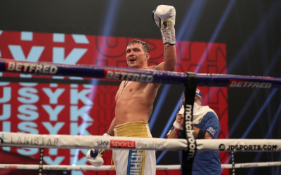 Oleksandr Usyk vs Dereck Chisora LIVE results full report live stream links details where to watch has anyone got a heavyweight what title WBO Intercontinental lee selby george kambosos jr carly skelly amy timlin