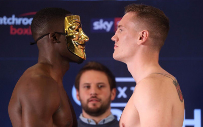 Richard Riakporhe vs Jack Massey weigh in official rnning order weights
