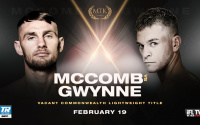Sean McComb vs Gavin Gwynne fight details - time, date, TV channel, undercard, schedule, venue, betting odds, predictions, ring walks and live stream info oddschecker preview what when where tale of the tape