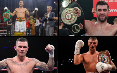 Top 15 highest rated British super-middleweights in the world