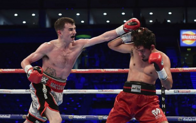 Tyrone McCullagh sensational in MTK Belfast show   British Boxing News