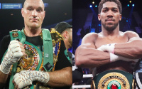 Tyson Fury vs Anthony Joshua location venue fight date tv dazn sky sports bt sport frank warren eddie hearn what we know so far about aj promoter Bob Arum middle east where will it be held june