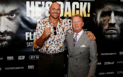 Joint statement released from Queensberry Promotions, Top Rank and MTK Global regarding Tyson Fury