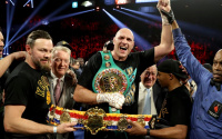 Tyson Fury believes he'll take Anthony Joshua out within two rounds unification fight confirmed what time date tv channel schedule undercard watch live stream
